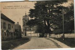 Le Mesnil-Aubry Entrée du pays - Le Mesnil-Aubry