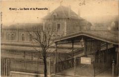 Rosny - La Gare et la Passerelle - Osny