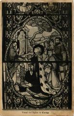 Vitrail de l'Eglise de Cergy - Cergy