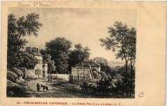 Pré-Saint-Gervais Historique - La Grande Rue il y a un siécle - Saint-Gervais