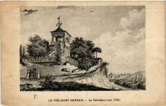 Le Pré-Saint-Gervais - Le Belvédére (vers 1790) - Saint-Gervais