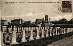 St-Maur-des-Fossés - Le Cimetiére Militaire et le Monument aux... - Fosses