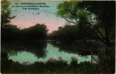 Le Lac de la Princesse Mathilde - Vue artistique - Enghien-les-Bains