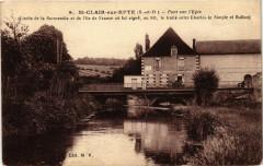 Saint-Clair-sur-Epte - Pont sur l'epte - Saint-Clair-sur-Epte