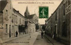 Nesles-la-Vallee - Rue des Ecoles - Nesles-la-Vallée