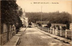 Bray-et-Lu - Grande Rue - Bray-et-Lû