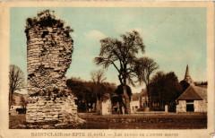 Saint-Clair-sur-Epte (S.-et-O.) - Les Ruines de l'Ancien Donjon - Saint-Clair-sur-Epte