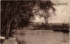 Vauréal (S.-et-O.) - L'Oise vers Cargy - Vauréal