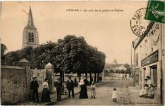 Vémars - Un coin de la place de l'Eglise - Vémars