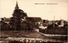 Cergy(S.-et-O.) - Vue prise du Pont - Cergy
