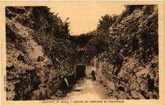 Chaussy (S.-et-O.) - Entrée des Carriéres de Villarceaux - Chaussy