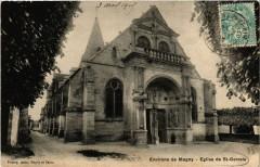 Environs de Magny - Eglise de Saint-Gervais - Saint-Gervais