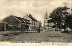 Le Mesnil Aubry- L'entrée du pays - Le Mesnil-Aubry