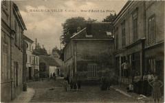 Marly-la-Ville (S.-et-O.) - Rue d'Aval La Poste - Marly-la-Ville