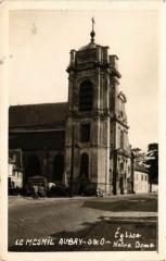 Eglise le Mesnil Aubry-S & O - Notre Dame - Le Mesnil-Aubry