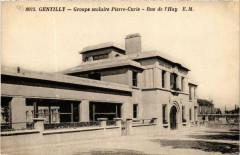 Gentilly Groupe scolaire Pierre-Curie Rue de l'Hay - Gentilly