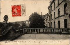 Arceuil Cachan Vue des Aqueducs prise de la Terrasse - Cachan