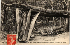 Maisons Alfort Un apercu de la force du cyclone 1908 94 Maisons-Alfort
