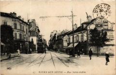 Vitry-sur-Seine Rue Saint-Aubin - Vitry-sur-Seine