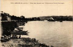 Ablon vue des Quais sur Villeneuve-Saint-Georges 94 Villeneuve-Saint-Georges