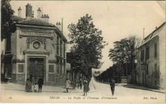Thiais - La poste et l'avenue d'Ormesson 94 Thiais