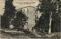 Sanatoriums de Villiers-sur-Marne pavillon des infirmiers 94 Villiers-sur-Marne