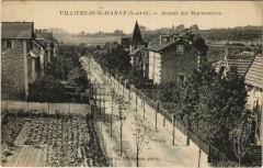 Villiers-sur-Marne - Avenue des marronniers 94 Villiers-sur-Marne