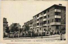 Champigny-sur-Marne - Les habitations des gardes mobiles 94 Champigny-sur-Marne
