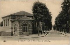 Thiais Salle des Fétes et Avenue de République 94 Thiais