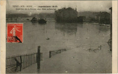 Vitry-Sur-Seine - Quartier de la Ferme aux Oies submergé 94 Vitry-sur-Seine