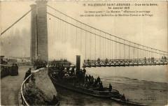 Inondations 1910 Villeneuve-Saint-Georges Remorqueur le Muette 94 Villeneuve-Saint-Georges