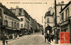 Charenton Rues du Pont et des Saint-Mandé 94 Saint-Mandé