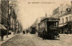 Charenton La Rue de Saint-Mandé tramway 94 Saint-Mandé