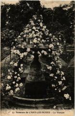 Roserarie de L'Hay-les-Roses La Vasque - L'Haÿ-les-Roses