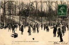 Les Patineurs au Lac de Saint-Mande 94 Saint-Mandé