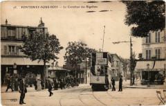 Fontenay sous Bois Le Carrefour des Rigollots. 94 Fontenay-sous-Bois