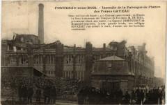 Fontenay sous Bois Incendie de la Fabrique de Pianos 94 Fontenay-sous-Bois
