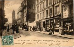 Saint-Mande - Eglise et Rue Armand Carrel 94 Saint-Mandé