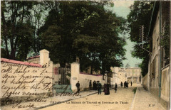 Thiais - La Maison de Travail et l'avenue de Thiais 94 Thiais
