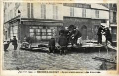 Janvier 1910 - Maisons-Alfort: Approvisionnement des Sinistres 94 Maisons-Alfort