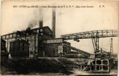 Vitry-sur-Seine - Usine Electrique de la T.C. R. P. - Quai Jules Gu 94 Vitry-sur-Seine