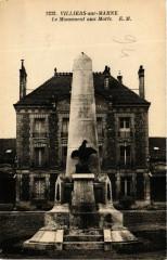 Villiers-sur-Marne - Le Monument aux Morts 94 Villiers-sur-Marne