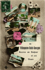 De Villeneuve-Saint-Georges Recevez un Bonjour et ces Fleurs 94 Villeneuve-Saint-Georges