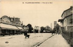 Villiers sur Marne - Place de la Gare 94 Villiers-sur-Marne