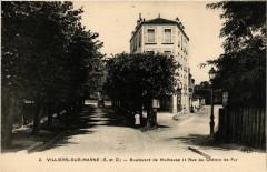 Villiers sur Marne - Boulevard de Mulhouse 94 Villiers-sur-Marne