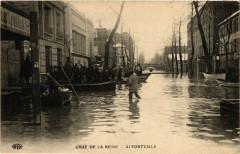 Alfortville - Crue de la Seine 94 Alfortville