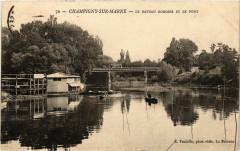Champigny-sur-Marne - Le Bateau 94 Champigny-sur-Marne