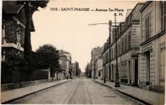Saint-Mande - Avenue Ste-Marie 94 Saint-Mandé