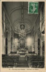 Epinay-sur-Seine - Interieur de l'Eglise - Épinay-sur-Seine