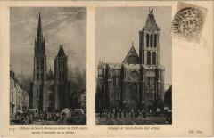 Abbaye de Saint-Denis au debait du Xix siecle 93 Saint-Denis